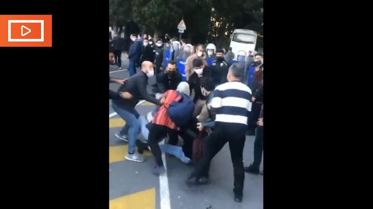 Polisten Boğaziçi Üniversitesi öğrencilerine: Her türlü gözaltına alınacaksınız