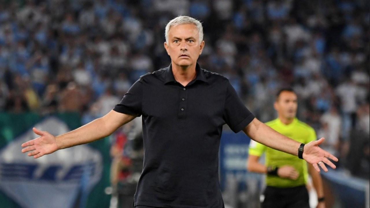 Ali Palabıyık'ın yönettiği maçta Mourinho tarihi hezimeti yaşadı