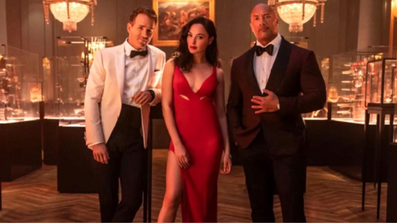 Netflix'in en pahalı filmi 'Red Notice'ten fragman