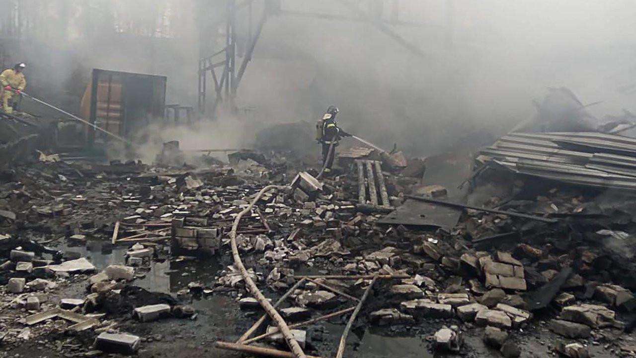 Rusya'da patlayıcı fabrikasında patlama: 16 kişi öldü