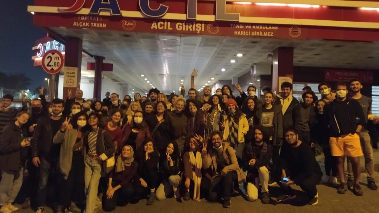 Gözaltına alınan 45 Boğaziçiliden 43'ü serbest bırakıldı
