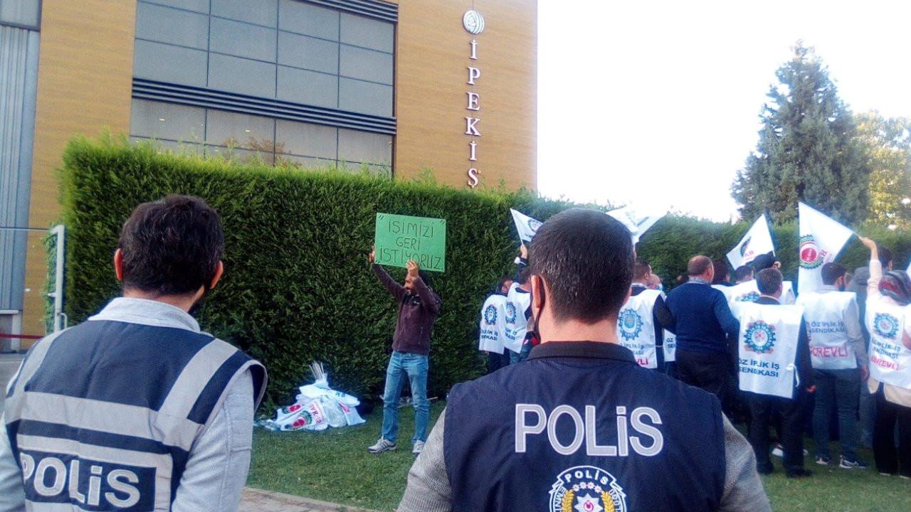 İpek İş'te Türk-İş ve Hak-İş sendikaları karşı karşıya