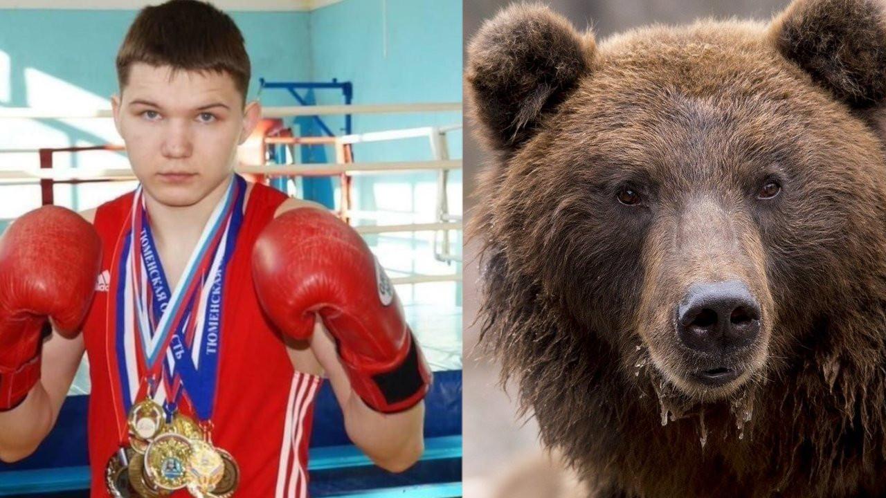 Rusya'da arkadaşını öldüren ayıyla boğuşan şampiyon boksör hastanede
