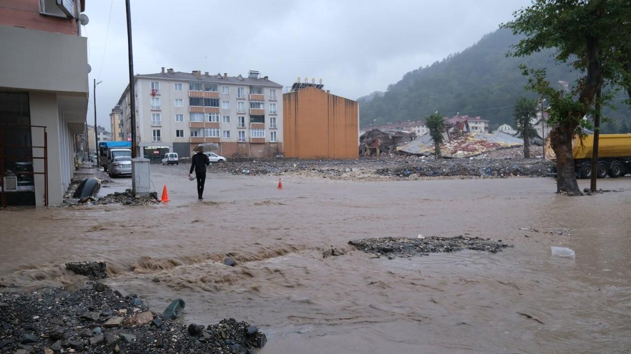 Selin vurduğu Bozkurt sokakları yeniden sular altında