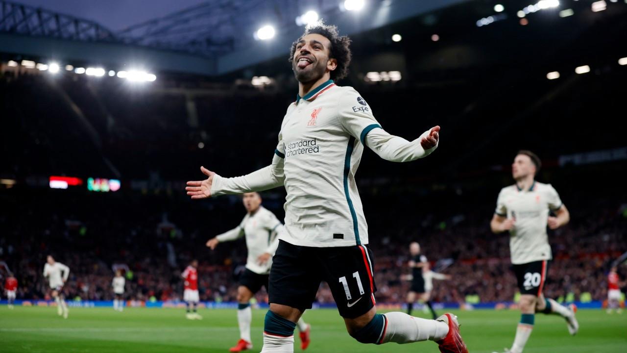 Liverpool Old Trafford'da farklı kazandı, Salah tarihe geçti