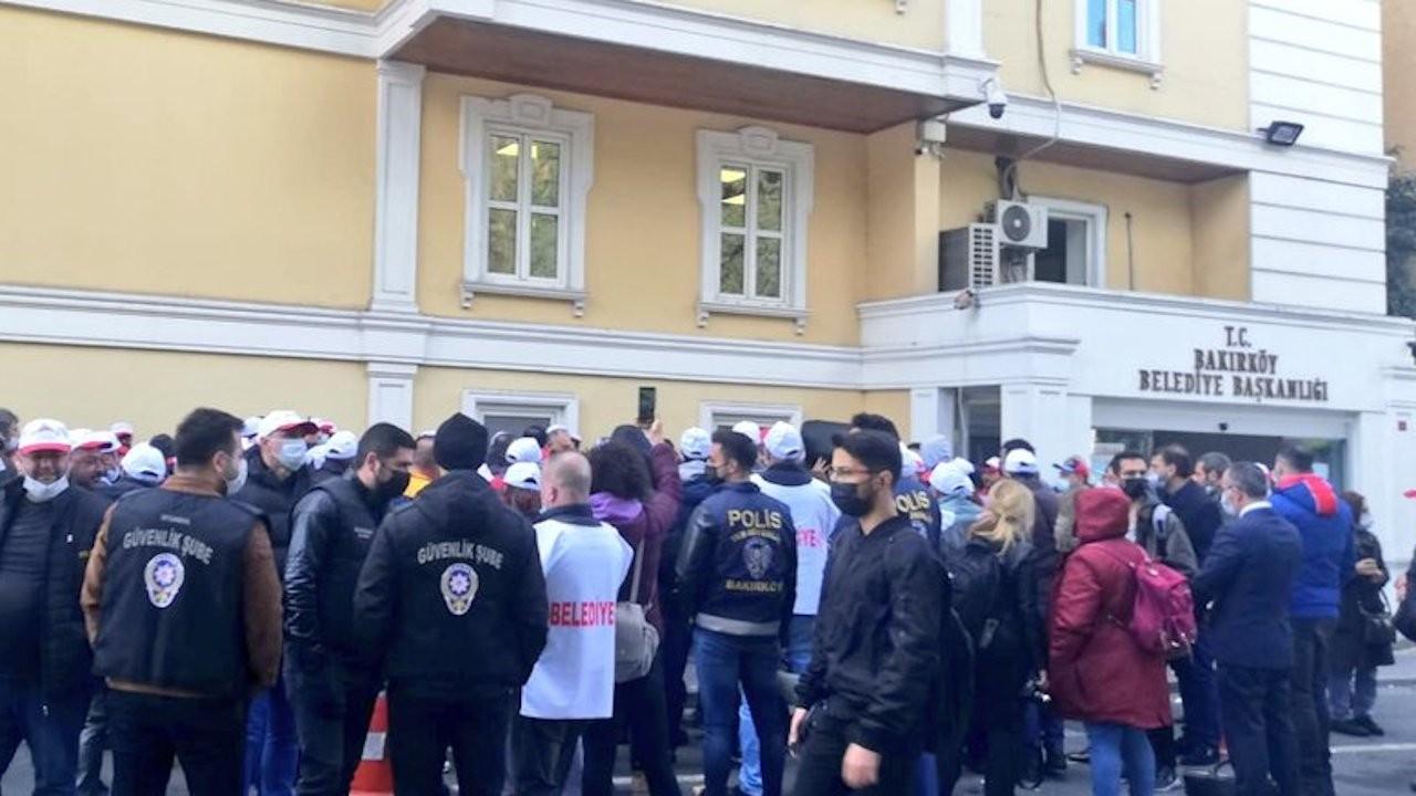 Bakırköy Belediyesi'nde grev