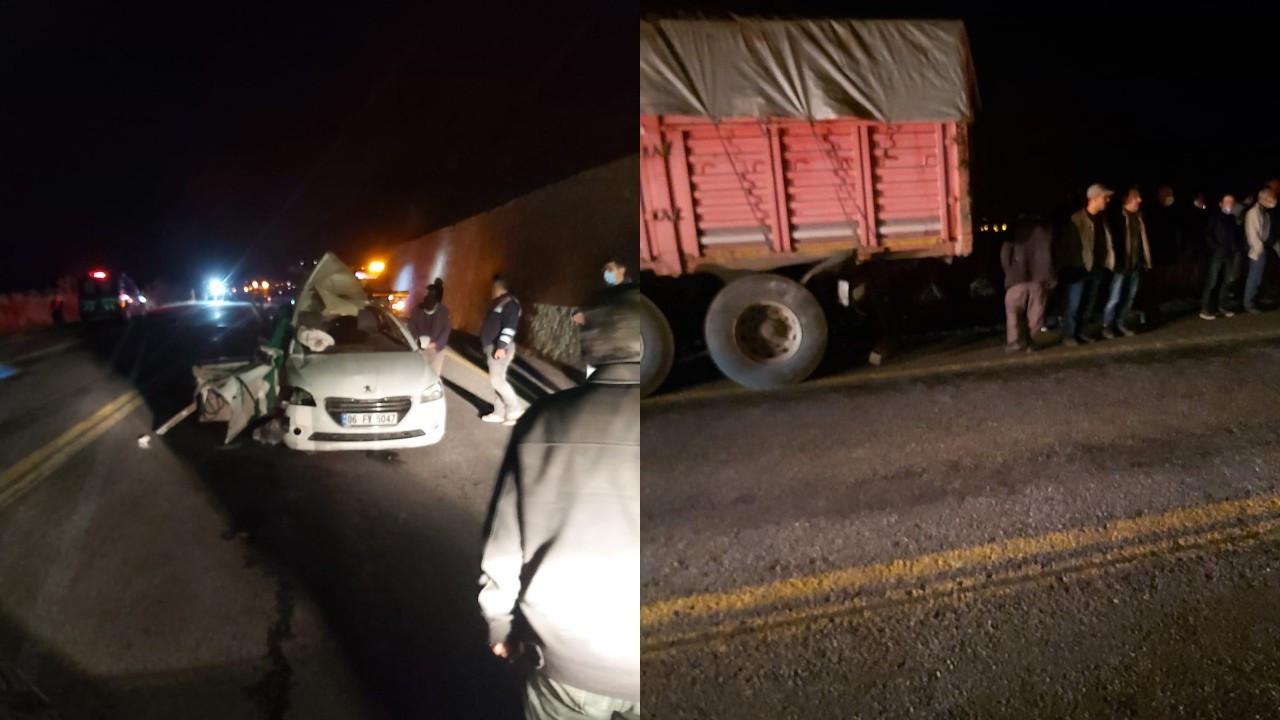 CHP'li belediye başkanının otomobili kaza yaptı: 1 ölü