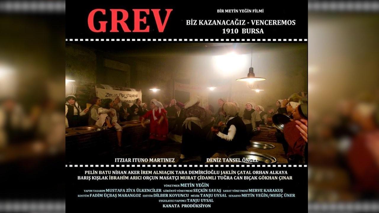 'Grev' filminden ilk kareler