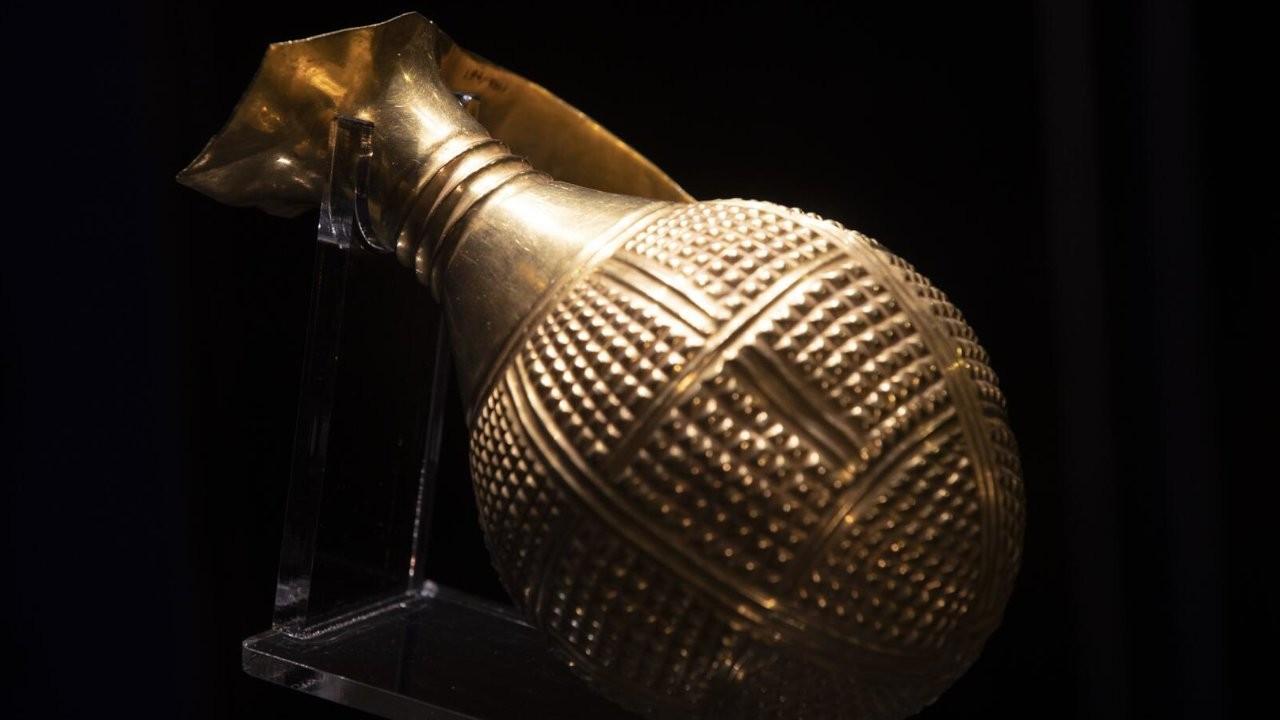 4 bin 250 yıllık altın gaga ağızlı testi Türkiye'ye iade edildi