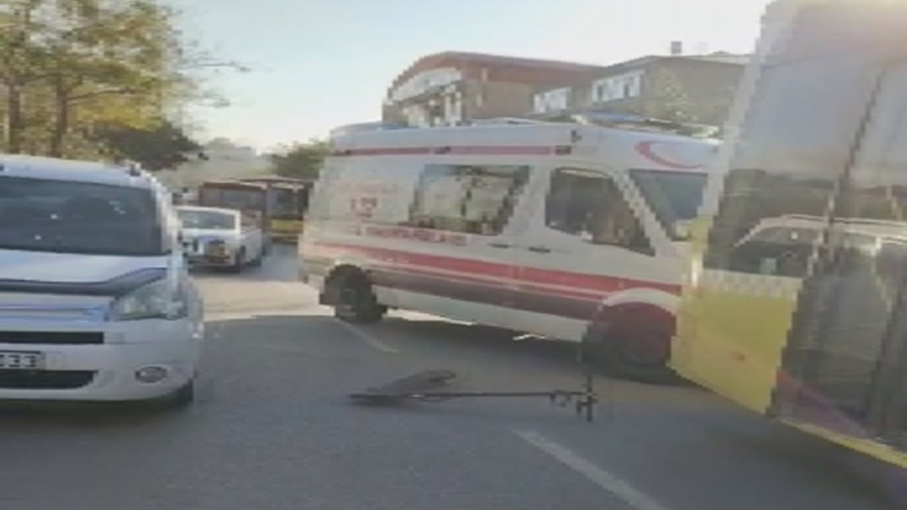 İETT otobüsünün ezdiği scooterlı öldü