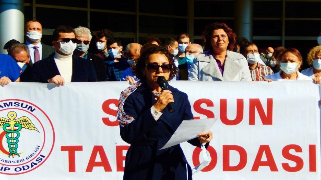 Samsun'da doktorlar meslek hastalığı yasası istedi